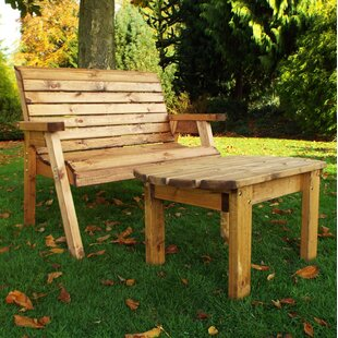 Garden Table And Bench Sets | Wayfair.co.uk