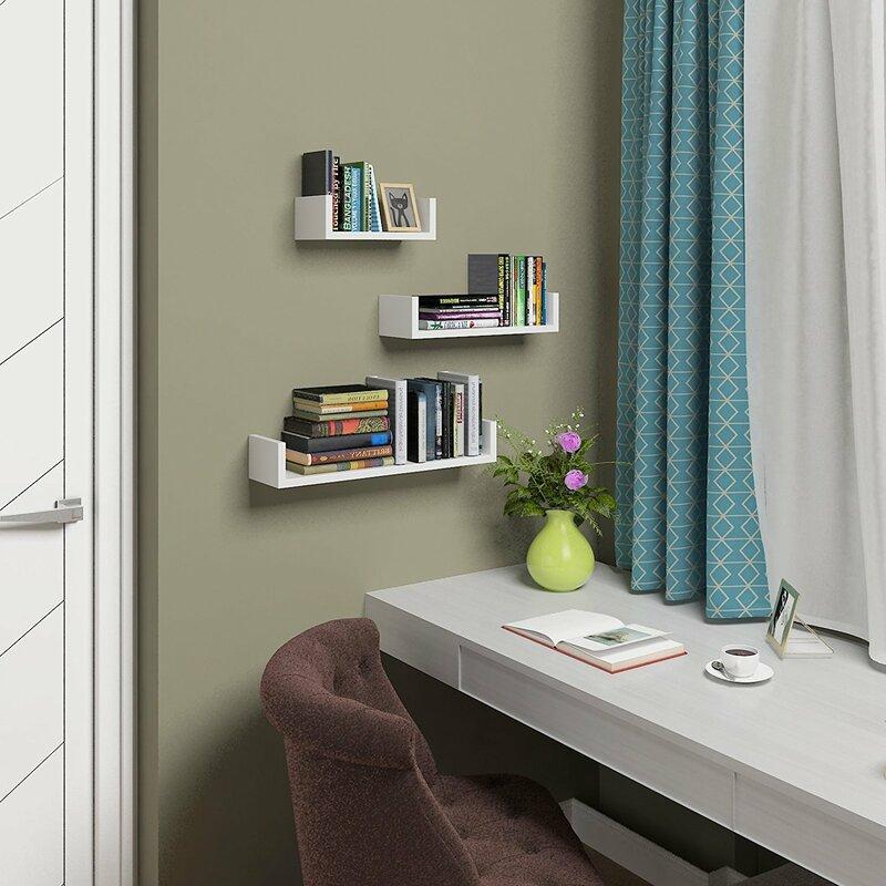 clearambient 3 tlg schweberegal set bewertungen. Black Bedroom Furniture Sets. Home Design Ideas