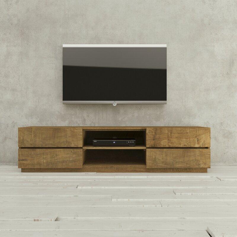 Urban Woodcraft Catania Tv Stand For Tvs Up To 75 Wayfair