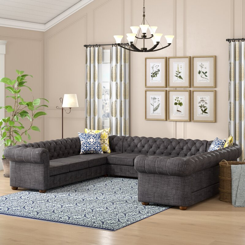 Gowans Sectional Collection Amp Reviews Birch Lane