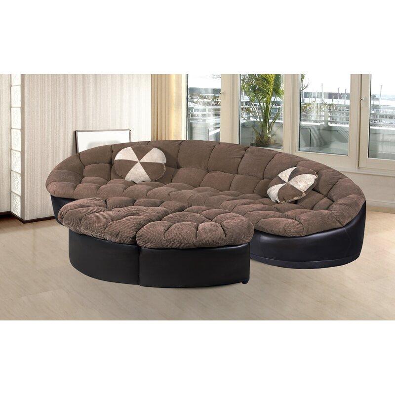 Exceptional Orren Ellis Chantilly 4 Piece Living Room Set U0026 Reviews | Wayfair