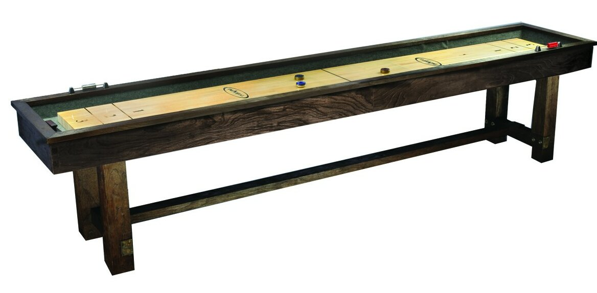 Reno Rustic 12u0027 Shuffleboard Table