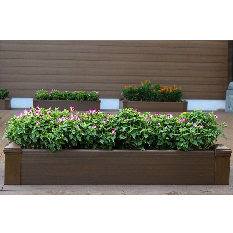 Landon Raised Garden Planter Box