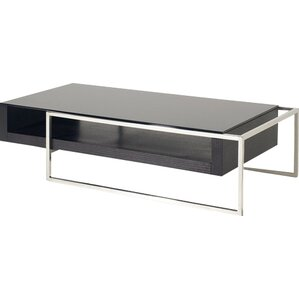 Camron Contemporary Steel Base Coffee Table by Orren Ellis