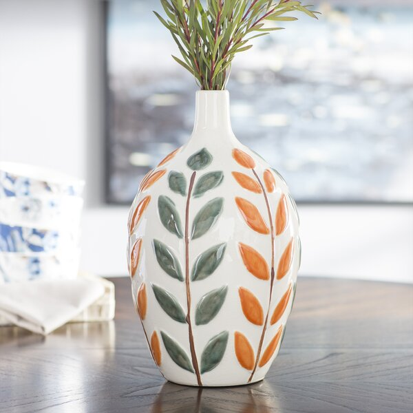 Burnt Orange Vases Wayfair