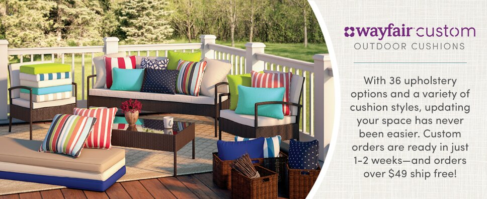 Wayfair Custom Outdoor Cushions - Wayfair Custom Outdoor Cushions Wayfair