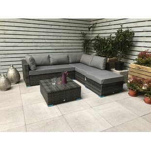 Saffy 5 Seater Rattan Sofa Set