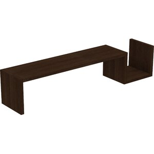 Erica S-Shaped Floating Shelf