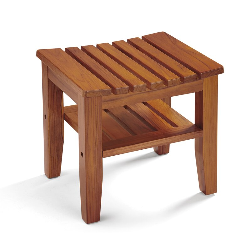 Conair Wooden Shower Seat | Wayfair