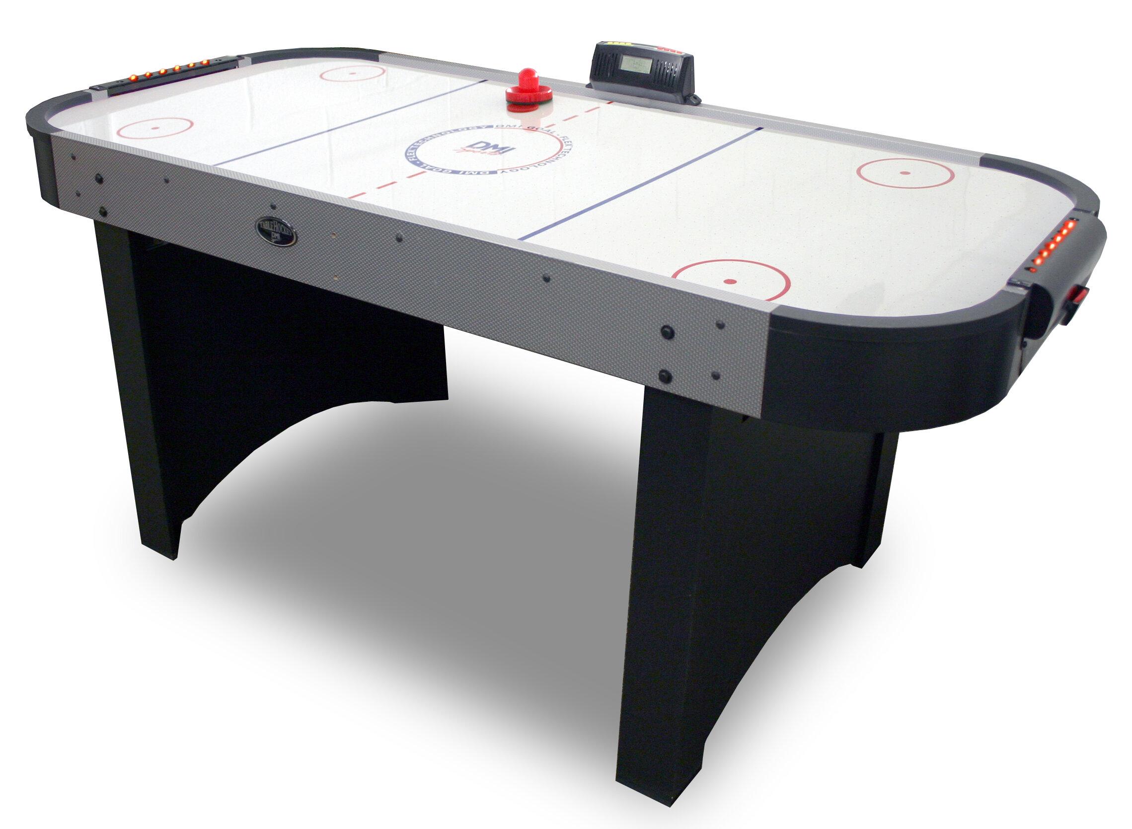Verus Sports 6u0027 Air Hockey Table With Goal Flex 180 | Wayfair