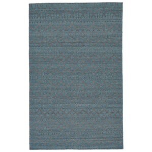 hallock handloomed teal area rug