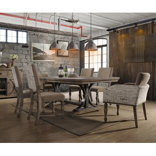 Dasher 7 Piece Extendable Solid Wood Dining Set