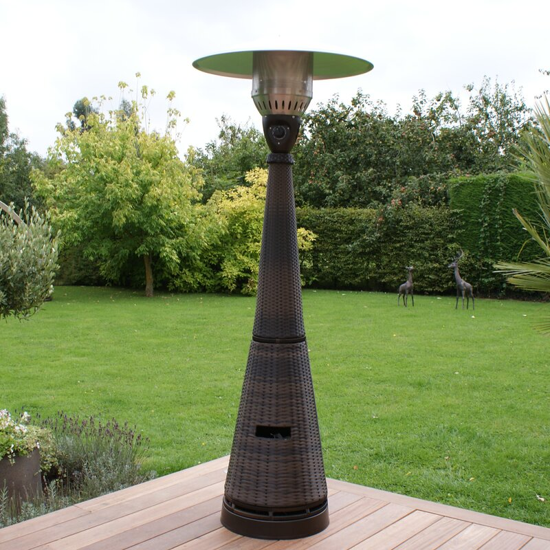 heater look pin liquid stone btu propane bond floorstanding composite patio
