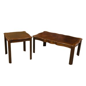 Alcott Hill Grunewald 2 Piece Coffee Table Set Image