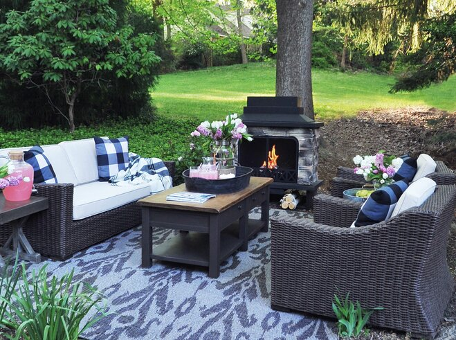 Outdoor Spaces Beauteous 7 Outdoor Spaces For Every Style  Wayfair Design Ideas