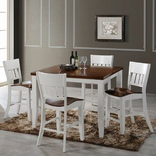 Chauncey 5 Piece Pub Table Set