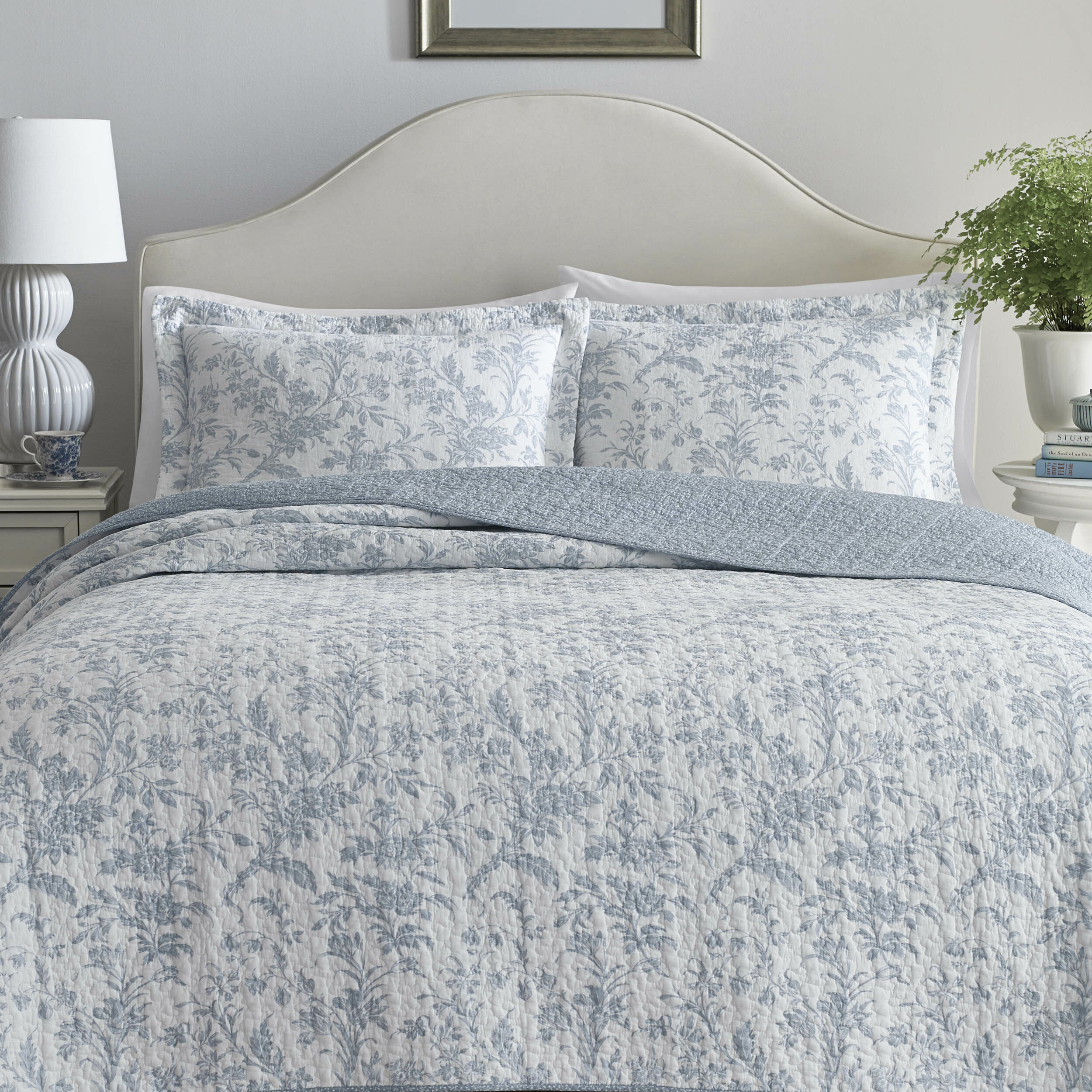 Laura Ashley Amberley Reversible Quilt Set By Laura Ashley Home