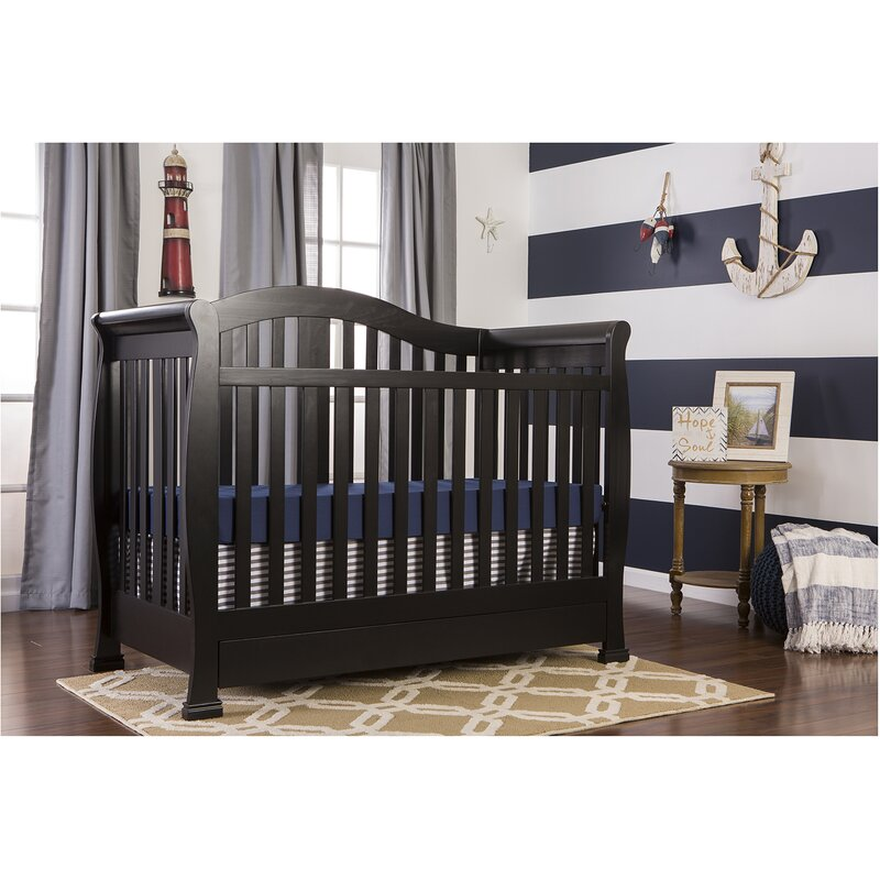 Addison 4 In 1 Convertible Crib With Storage