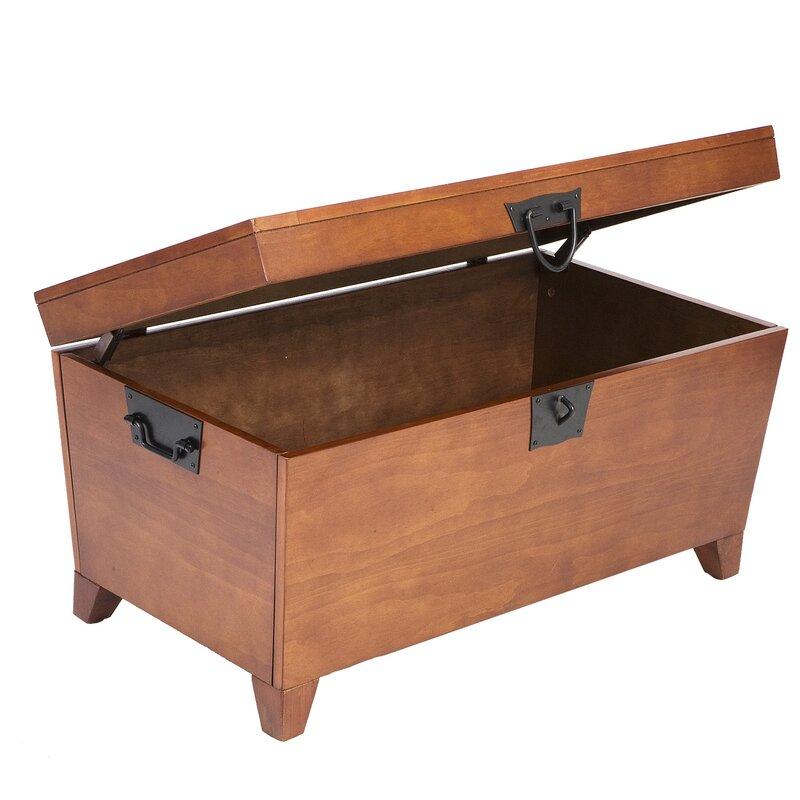 Loon Peak Harrower 3 Piece Trunk Coffee Table Set