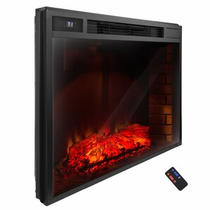 AKDY Freestanding 3D Logs Flame Electric Fireplace Insert Image
