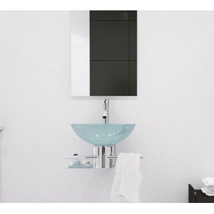 Artemis Gl Circular Vessel Bathroom Sink