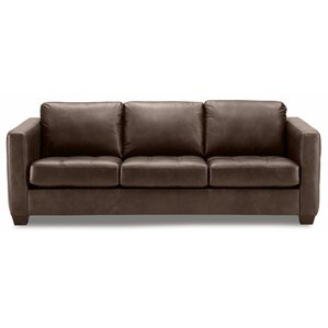 Barrett Leather Sofa by Pa..