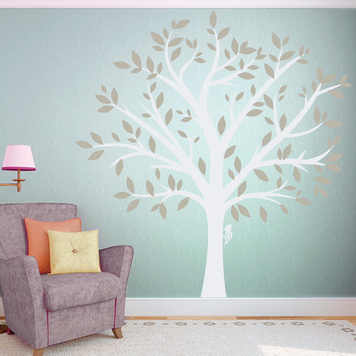 Wallums Wall Decor Large Family Tree Wall Decal U0026 Reviews | Wayfair