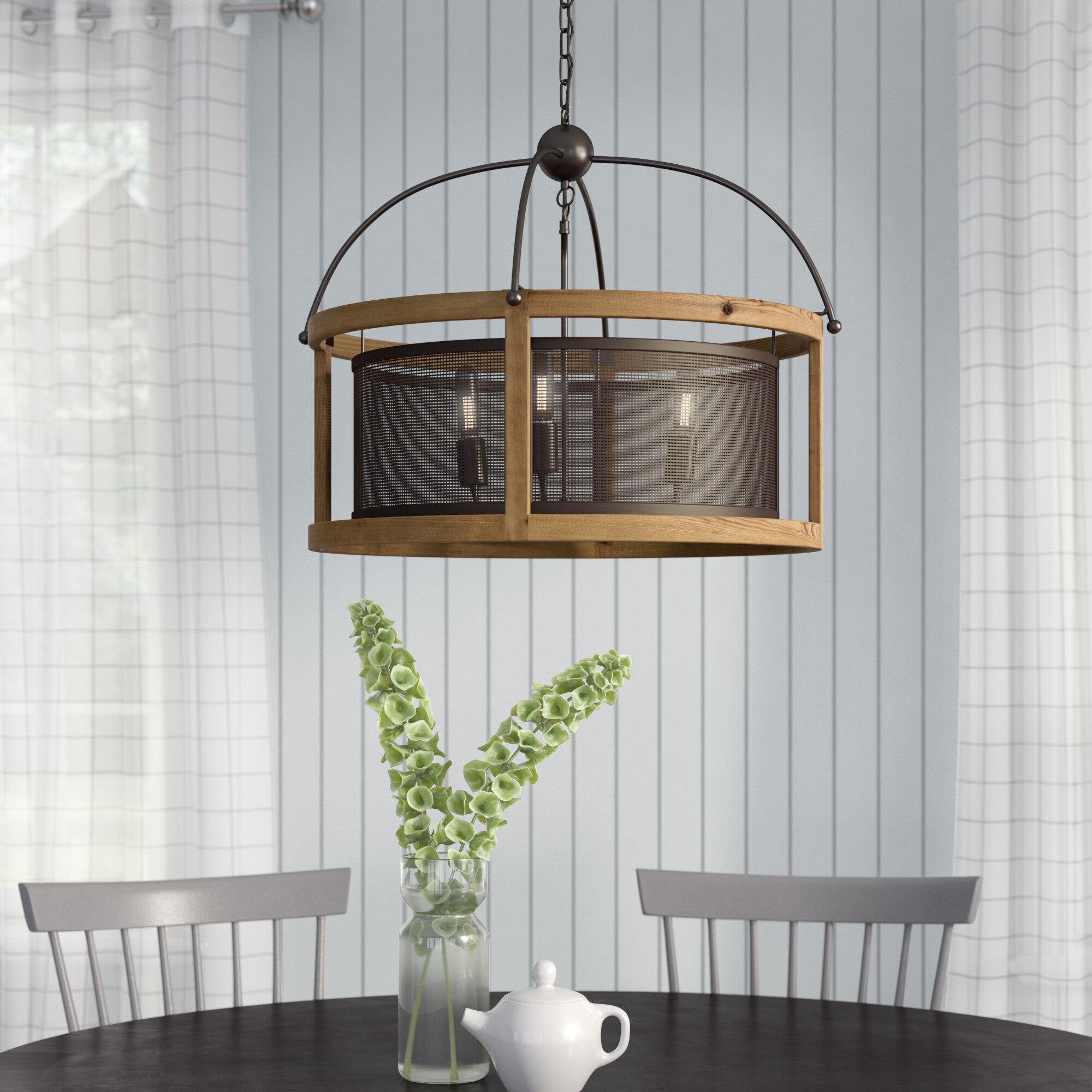 Gracie Oaks Millstone 3-Light Lantern Pendant | Wayfair