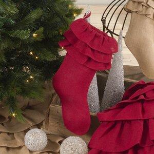 Ruffled Stocking
