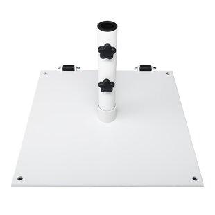white patio umbrella stands & bases you'll love | wayfair 75 Lb Umbrella Stand