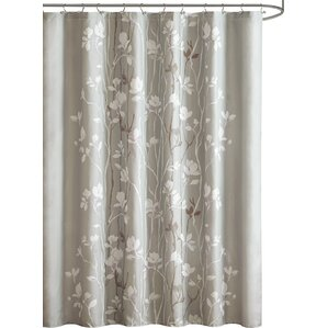 brown and white shower curtain. Boutte Shower Curtain Brown Curtains You ll Love  Wayfair