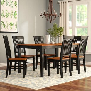 Cleobury 7 Piece Extendable Breakfast Nook Dining Set