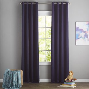 Blackout Curtains You'll | Wayfair on purple lighting for bedrooms, purple wall decor for bedrooms, purple color for bedrooms, purple furniture for bedrooms, purple paint for bedrooms, purple bedroom themes, purple wallpaper for bedrooms, purple rugs for bedrooms,