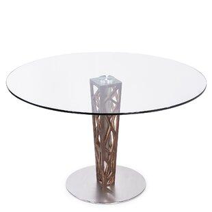 Bonetti Glass Top Dining Table