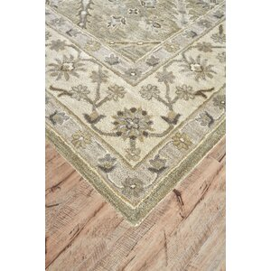 Corsham Hand-Tufted Sage Area Rug