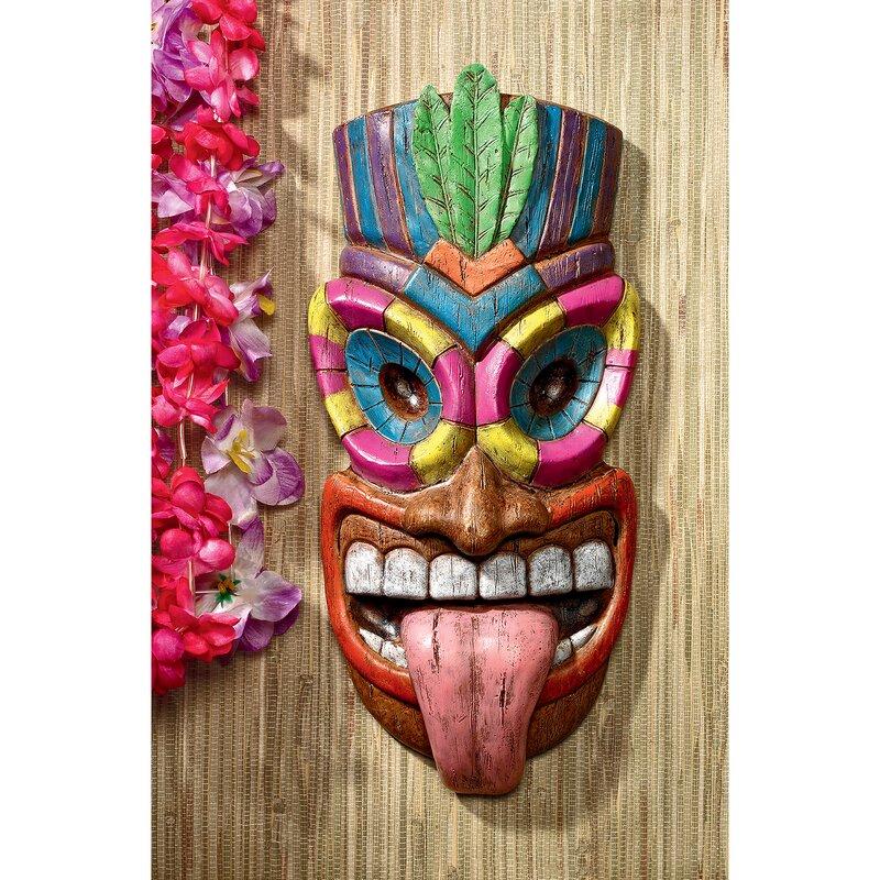 Design Toscano Maika \'l\' Ole, God of the Hawaiian Isle Tiki Wall ...