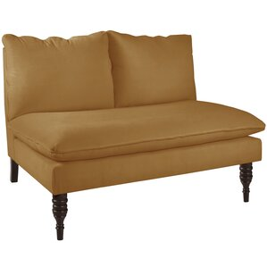 Monroeville Armless Love Seat by Alcott Hill