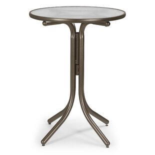 Obscure Acrylic Round Bar Table