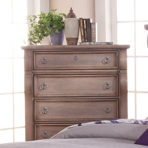 Ang?le Weathered 5 Drawer Chest by One Allium Way