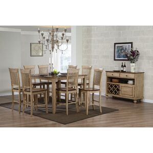 Huerfano Valley 10 Piece Dining Set by Loon Peak