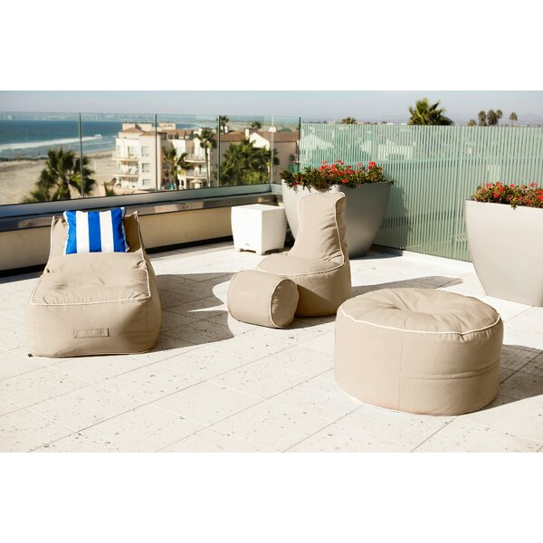 - Hip Chik Chairs Sunbrella Bean Bag Set Wayfair