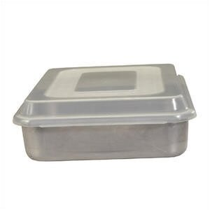 Natural Commercial Square Cake Pan with Lid