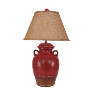 Halladay Ginger Jar 29 Table Lamp With 2 Handles