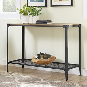 Arboleda Rustic Wood Console Table