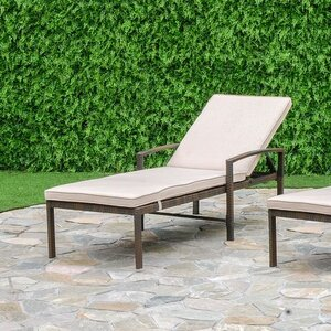 Audette Chaise Lounge Set with Cushion (Set of 2)