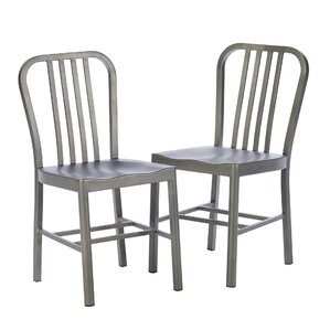 Leo Side Chairs (Set of 2) by Mercury Row