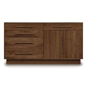 Moduluxe 5 Drawer Combo Dresser by Copeland Furniture