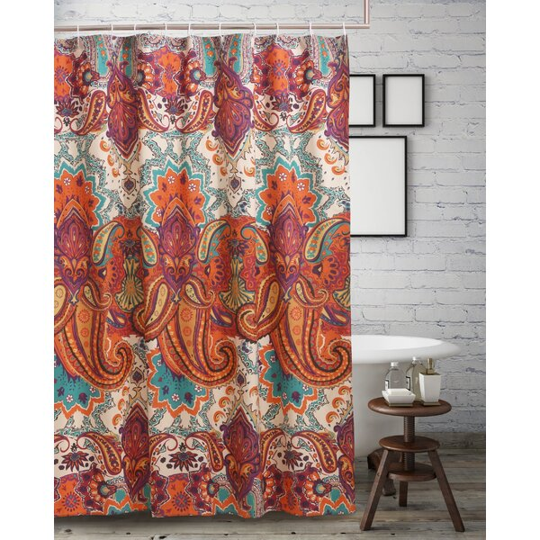 World Menagerie Roskilde Spice Shower Curtain