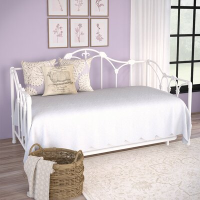One Allium Way Ara Daybed with Trundle & Reviews | Wayfair on