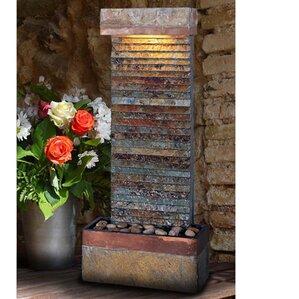 Natural Stone/Copper Fountain